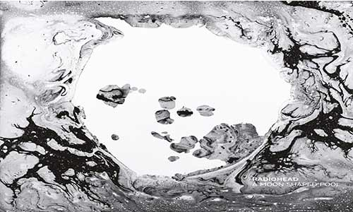 a moon shaped pool, radiohead