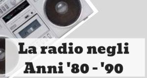 radio, 80, 90 musica
