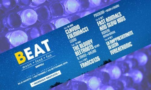 Musica beat festival Empoli Concerti