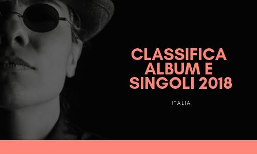La classifica 2018 della musica italiana