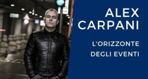 Musica Alex Carpani L'orizzonte degli eventi