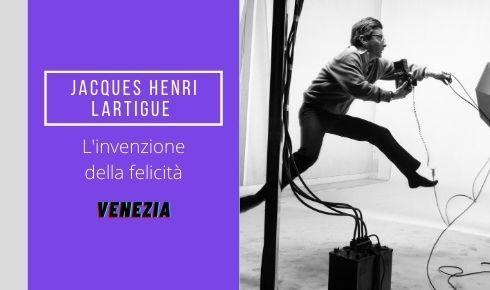 A Venezia le fotografie della felicità di Lartigue in mostra